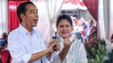 Di TPS Jokowi, Prabowo hanya Dapat 46 Suara