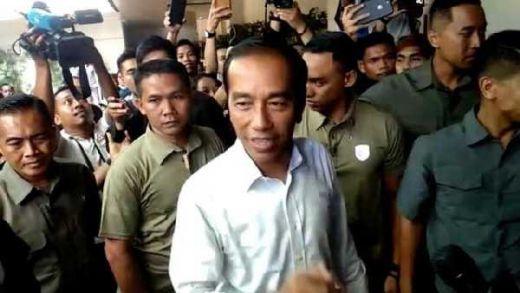 Meski Quick Count Sudah Kelihatan, Jokowi: Tapi Sabar Tunggu KPU