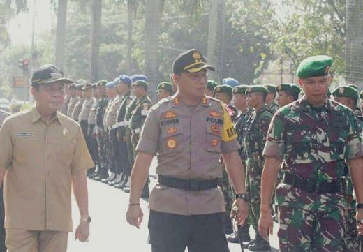 560 Personel Gabungan Siap Amankan Pemilu 2019 di Bitung