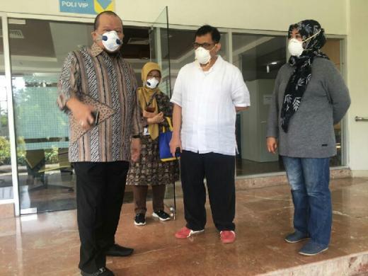 LaNyalla: DPD Intensif Pantau Kondisi Daerah di Tengah Pandemi Covid-19
