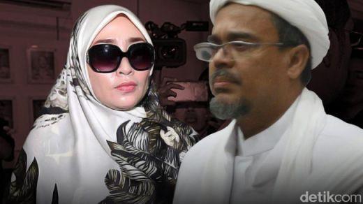 Firza Husein Ditetapkan Jadi Tersangka, Habib Rizieq Masih Berstatus Saksi