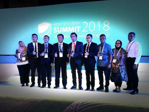Ungkap Rentetan Kasus Skimming, Resmob PMJ Raih Penghargaan Visa Security Summit 2018