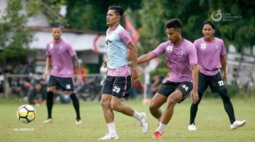 Usai Bungkam Arema FC, PSS Kembali Gelar Latihan