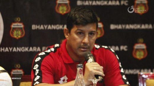 Alfredo Bersyukur Bhayangkara FC Dapat Satu Poin di Tenggarong