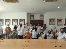 Jelang New Normal, Untuk Pertama Kalinya Gubri Sambangi Badan Penghubung Riau Jakarta