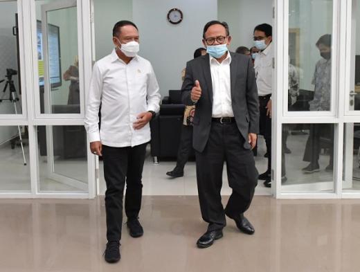 Rektor Komaruddin Senang Kampus UIII Dikunjungi Menpora Amali