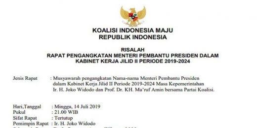 Beredar Daftar Menteri Jokowi, Golkar Minta Jangan Dianggap Serius