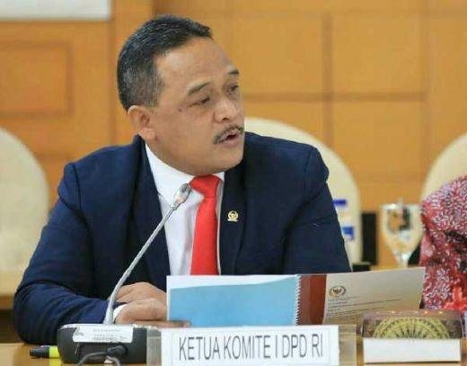 Ketua Komite I DPD RI Respon Positif Pidato Jokowi