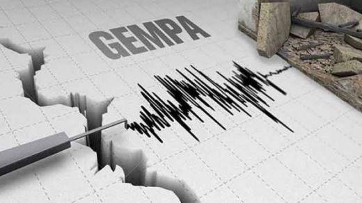 Baru Saja, Gempa Tektonik M3.0 Guncang Ambon