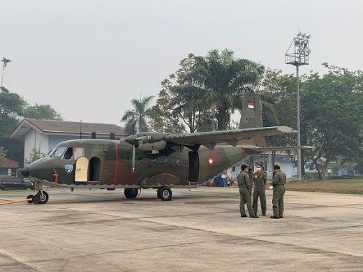 Tambahan Pesawat untuk Karhutla di Riau