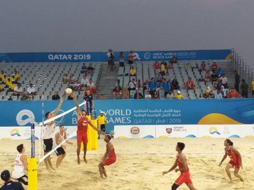 Tim Voli Pantai Indonesia Sukses Raih Perunggu