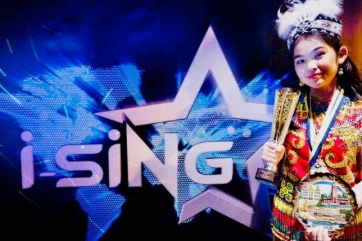 Maria Sinaga Juara Nyanyi Internasional I-Sing World 2019