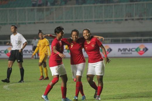 Timnas Putri Indonesia Bungkam Sri Lanka