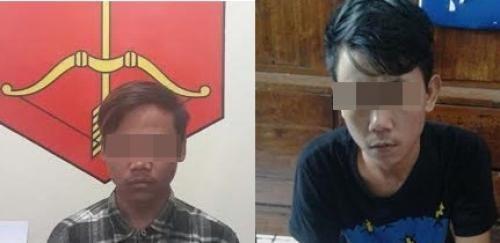Rasain...Akhirnya Dua Tersangka Penyebar Foto Istri Kades di Ponorogo Ditangkap Polisi