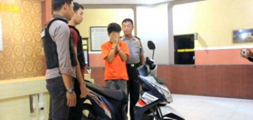 Kepergok Mencuri Motor, Pemuda Ini Pura-pura Kesurupan