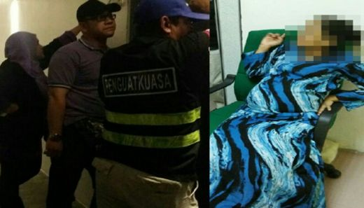 Wanita Beranak 6 dan Tengah Hamil 9 Bulan Kepergok Berkhalwat dengan 3 Pria di Kamar Hotel