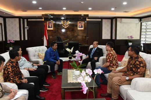 Pimpinan MPR Ajak KNPI Berkontribusi dalam Wacana Perubahan Konstitusi