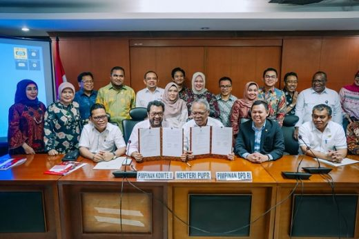 Komite II DPD RI, Desak KemenPUPR Segera Bangun Infrastuktur di Daerah