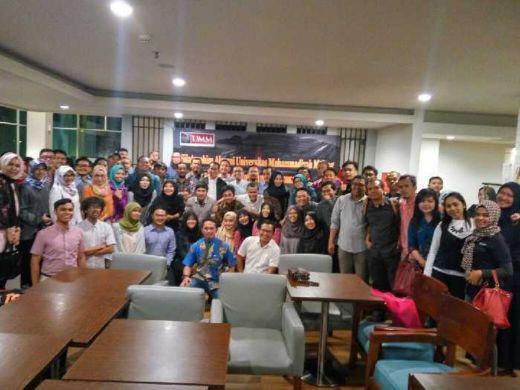 Perkuat Jaringan, Alumni UMM Jakarta Gelar Pertemuan di Gado-gado Boplo