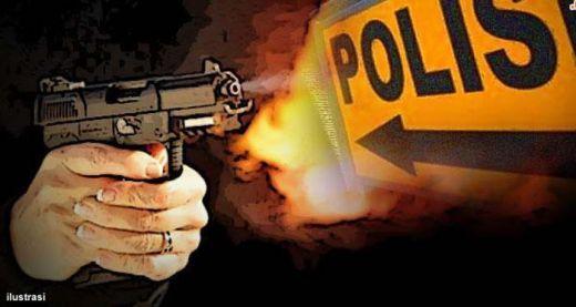 Serang Polisi dengan Badik, Pencuri Motor Tewas Ditembak