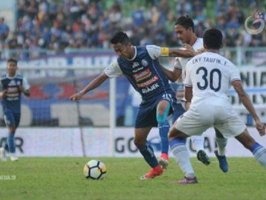 Arema FC Manfaatkan Waktu Tersisa Untuk Persiapan