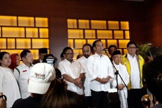 Raih 54,5 Persen dari Hasil 12 Lembaga QC, Jokowi Juga Gelar Deklarasi Kemenangan