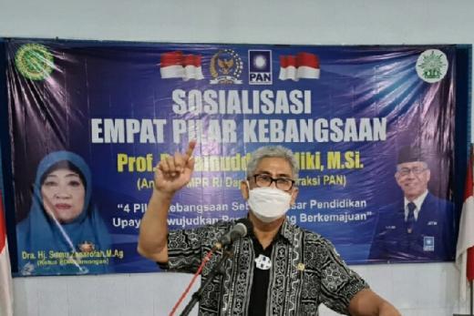 Prof Zainuddin Maliki: Jangan Beri Ruang Gerakan Mendistorsi dan Gerogoti Pancasila
