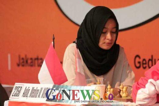 Pecatur Muda Indonesia Medina, Hanya Butuh Hasil Draw Untuk Raih Norma MI