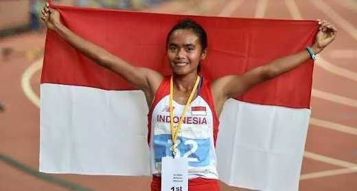 Triyaningsih, Pelari Puteri Indonesia Gagal Raih Medali di ISG IV