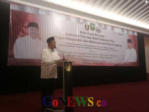 Bukber Masyakat Riau Jakarta, Syamsuar Beberkan Program Utama Pemprov Riau 5 Tahun Mendatang