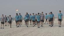 Timnas Indonesia Jalani Latihan Ringan di Pantai