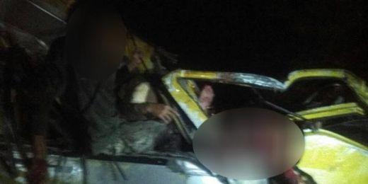 Mobil Travel Membawa Pemudik Tabrakan dengan Tronton Bermuatan Semen, 8 Tewas dan 5 Orang Terluka