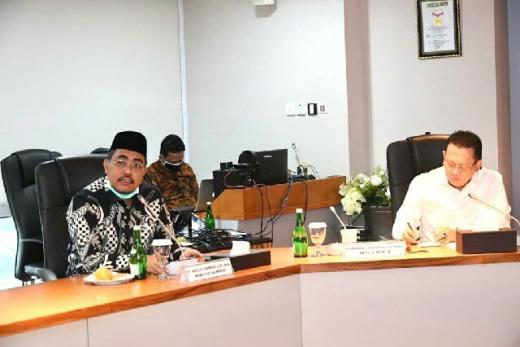 Pimpinan MPR Sepakat dengan Pemerintah Untuk Menghentikan Sementara Pembahasan RUU HIP