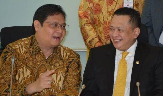 Bambang Soesatyo Deklarasai Caketum Golkar, Airlangga Selow