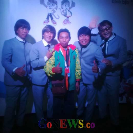Sekelumit Sejarah Band Spesialis Lagu Lawas Mat Bitel, dari Menghibur Wartawan PON XIX 2016 Jawa Barat Sampai ke Liverpol Inggris