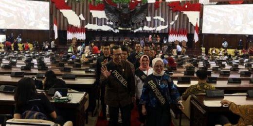 MPR Gelar Gladi Kotor Pelantikan Presiden