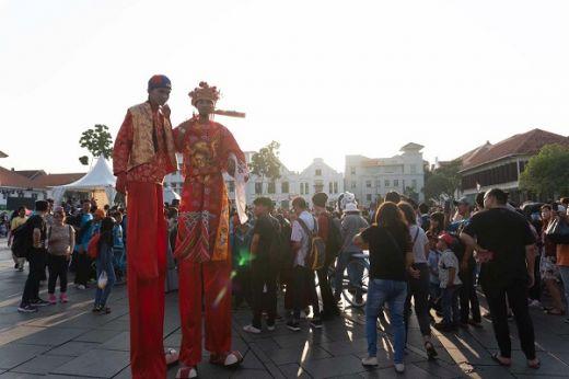 Pergelaran Pecinan Batavia Sukses Digelar Di Kota Tua Jakarta