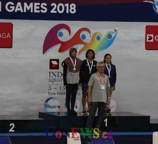 Indonesia Loloskan 17 Perenang ke Olimpiade Remaja 2018, Termasuk Azzahra dari Riau