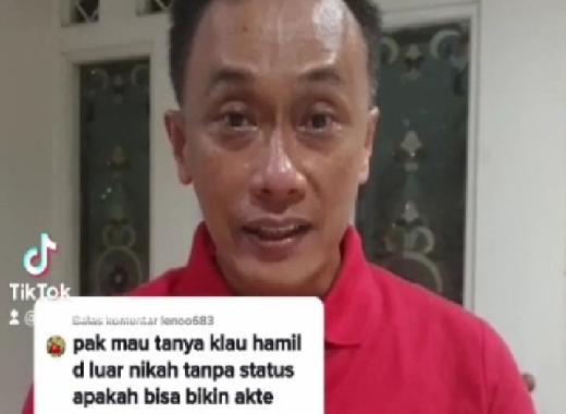 Netizen Tanya Akta Lahir Anak di Luar Nikah, Dukcapil Jawab Begini...