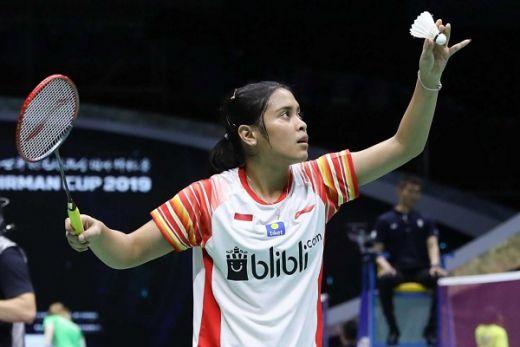 Gregoria Menang, Indonesia Kian Unggul 2-0