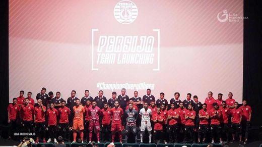 Persija Jakarta Patok Target Pertahankan Gelar Juara
