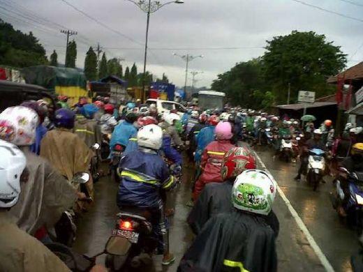 Bencana Banjir Ancam Arus Mudik Lebaran di Jalur Pantura Jawa Tengah