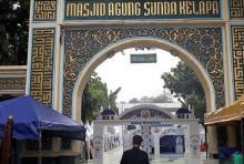 Masjid Sunda Kelapa Gelar Salat Jumat Tanpa Gelombang Ganjil Genap