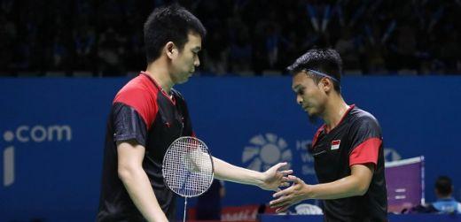 Taklukkan Jepang, Hendra-Ahsan Pastikan Tiket Semifinal