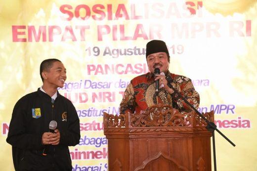 Tanamkan Jiwa Nasionalisme ke Anak Bangsa, Sosialisasi 4 Pilar MPR Sasar Kalangan Pelajar