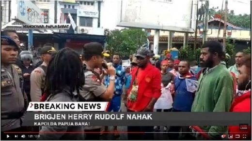 Manokwari Lumpuh Meskipun Elit Sudah Sebarkan Himbauan pasca Pengepungan Mahasiswa di Surabaya