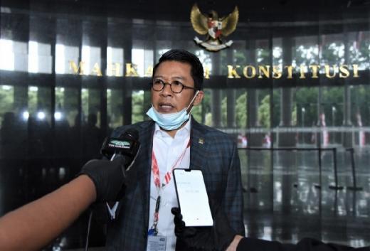 Misbakhun Wakili DPR Hadir di Sidang Uji UU KUP