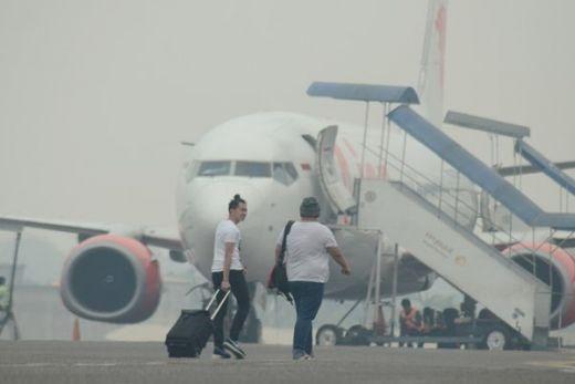 11 Bandara Terganggu Akibat Kabut Asap, Ini Daftarnya