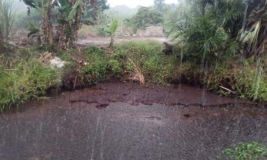 Update TMC Kamis 19 Sep 2019 Pukul 20.00 WIB, Hujan Turun di Wilayah Meranti