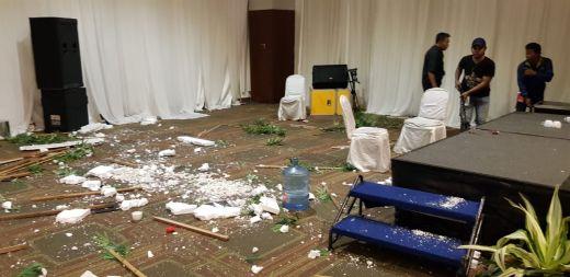 Memanas, Pendukung Bamsoet di Hotel Sultan Diserang dan Dianiaya Oknum yang Diduga Pendukung Airlangga